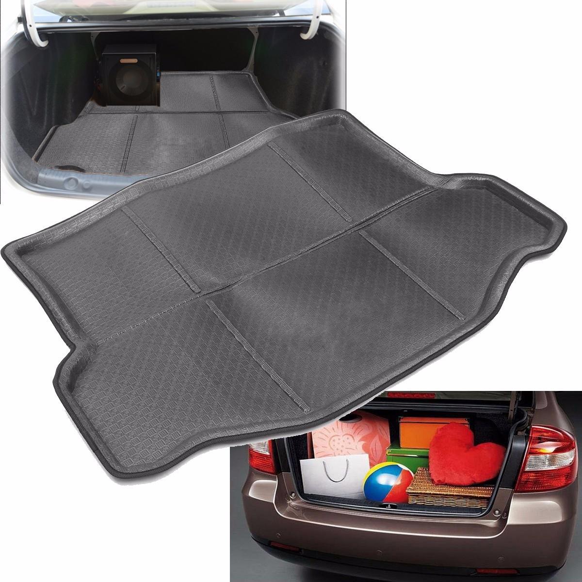 auto arri re de voiture pad tapis de coffre tapis de coffre arri re plateau chausson cargo floor. Black Bedroom Furniture Sets. Home Design Ideas