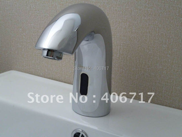 Automatic Hand Touch Tap Cold Wate Free Sensor Faucet Bathroom Sink