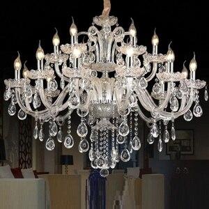 Image 2 - Kristallen kroonluchter Licht Luxe Moderne kristallen Lamp kroonluchter Verlichting champage Crystal Top K9 kroonluchter kristal licht