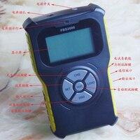 FBS 2000 портативный мобильный тестер мощности экспортный детектор емкости разрядки тестирование емкости автоматическое обнаружение интегри