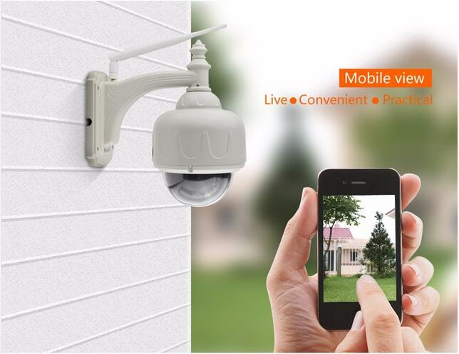 VStarcam C7833WIP Wireless WiFi Outdoor Bullet HD IP Security Camera 720P Wifi Wireless Dome Pan Tilt Onvif Stream Support 128G vstarcam c7815wip 720p hd wireless bullet wifi ip camera outdoor security waterproof cctv compatibility and support 128g tf card