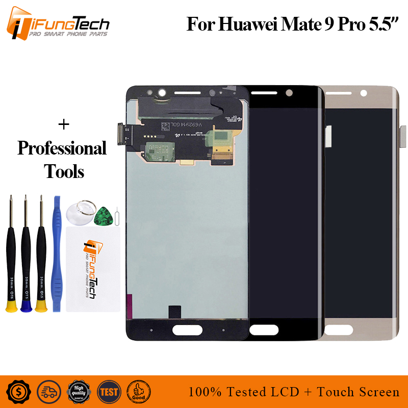 """5.5"""" FHD For Huawei Mate 9 Pro LCD Display Touch Screen Digitizer With Frame Replacement For Huawei Mate 9 Pro LCD Display"""