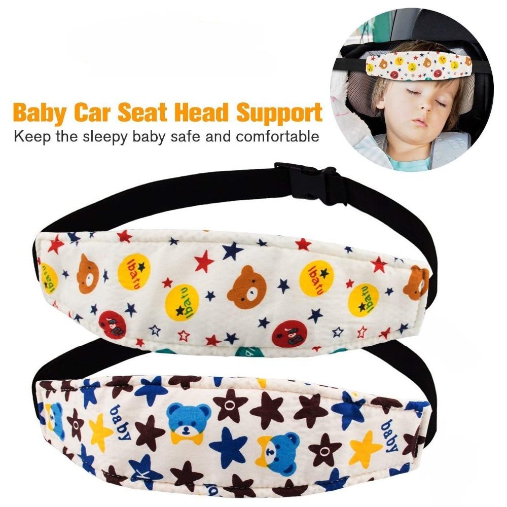 Fixing Band Baby Head Support Holder Sleeping Belt Adjustable Safety Nap Aid Stroller Car Seat Sleep Nap Holder Belt for kids