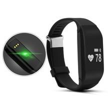 Сердечного ритма Носимых устройств Bluetooth Smart Браслет с fitnessactivitytracker Шагомер здоровый браслет Pulsera inteligente