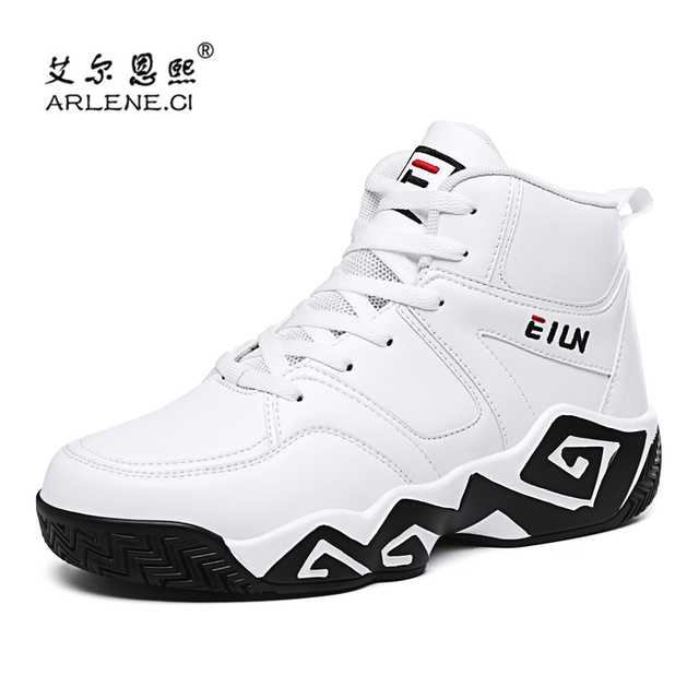 2018 Marca Basketball Shoes for Men High Top Sports Shoes Sneakers Ankle Boots Masculinos Cesta Homme Chaussure Homme Plus Size 39-48
