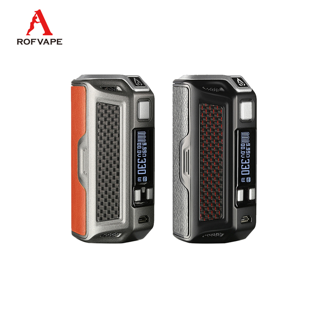 US $58 73 |Original Rofvape NAGA 330W Box Mod electronic cigarette Powered  by triple 18650 batteries 0 91inch OLED display screen vape-in Electronic