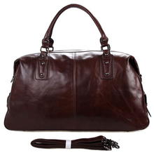 Taastrup Genuine Leather Duffel Bag