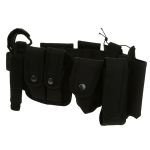 Image 5 - Utility Belt Waist Bag Pouch Mens Security Police Guard Patrol Kit with Radio Holster Tools for outdoor