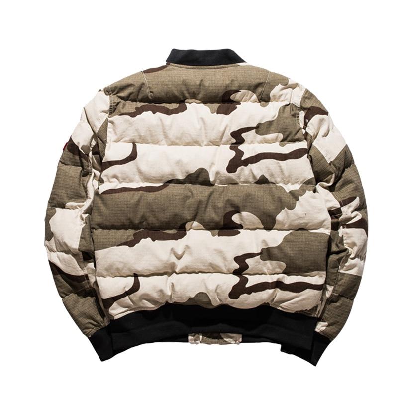Парка с воротником, камуфляжная мужская одежда ВВС, узор, хлопок, со стоячим принтом, на молнии, повседневная, без зимы, мужская куртка, 2019, но... - 2
