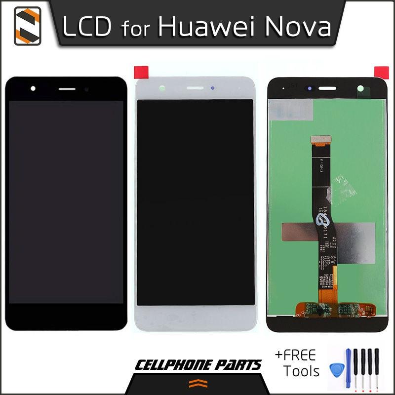 ФОТО 100% High Quality LCD for Huawei Nova CAZ-AL10 CAN-L01/L11/L02/L12/L03/L13 LCD Display Touch Screen Digitizer Assembly+Tools