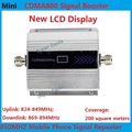 LCD Display ! Mini CDMA 850 mhz  Mobile Phone Cell Phone signal Booster Repeater gain 55dbi LCD display function Free shipping