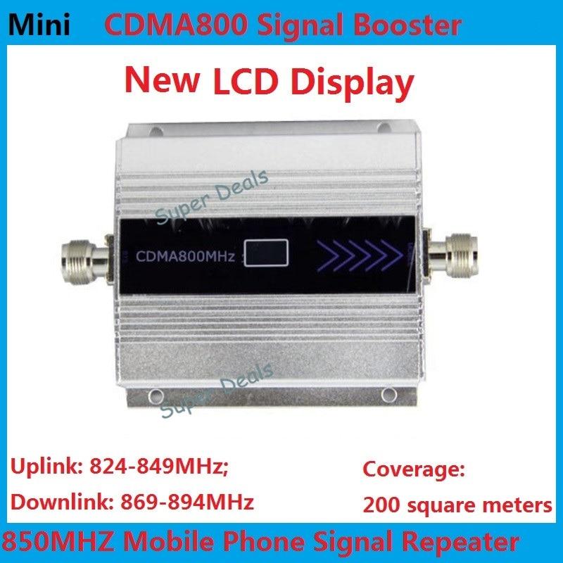 Mini 850 mhz cellular signal booster CDMA lte 4g repeater booster 2g gsm repeater repetidor de sinal de celular amplificador wifi