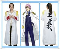 Japanese anime One Piece navy Cloak cosplay costume Long Trench Coat for party and Halloween 62104
