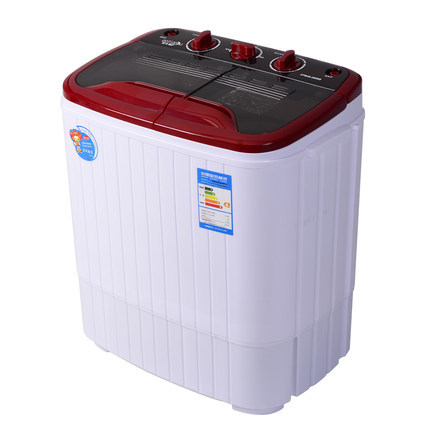 Freeshipping 230w Power Washer Can Wash 4kg Clothes + 130w Power 2kg Dryer Twin Tub Top Loading Wahser&dryer Semi Automatic