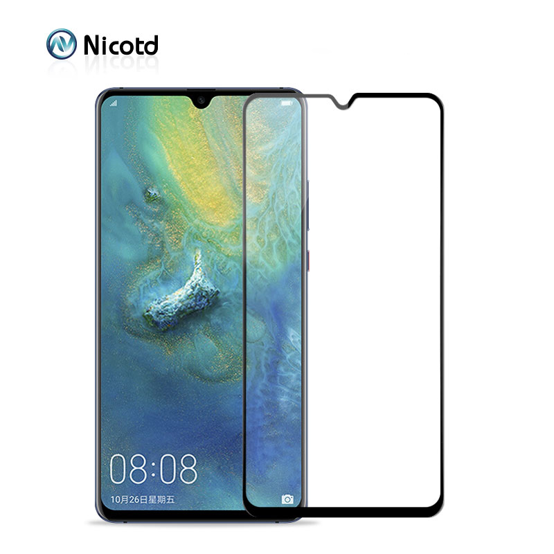 9H Full Cover Tempered Glass For Huawei Mate 20 X Lite Protective Glass Film For Huawei Nova 4 3 3i Honor 8X 8C Y9 P Smart 2019