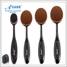Professional Makeup Powder Blush Toothbrush Curve Foundation Brush Blending Brush for Makeup Cosmetic Blush Brush