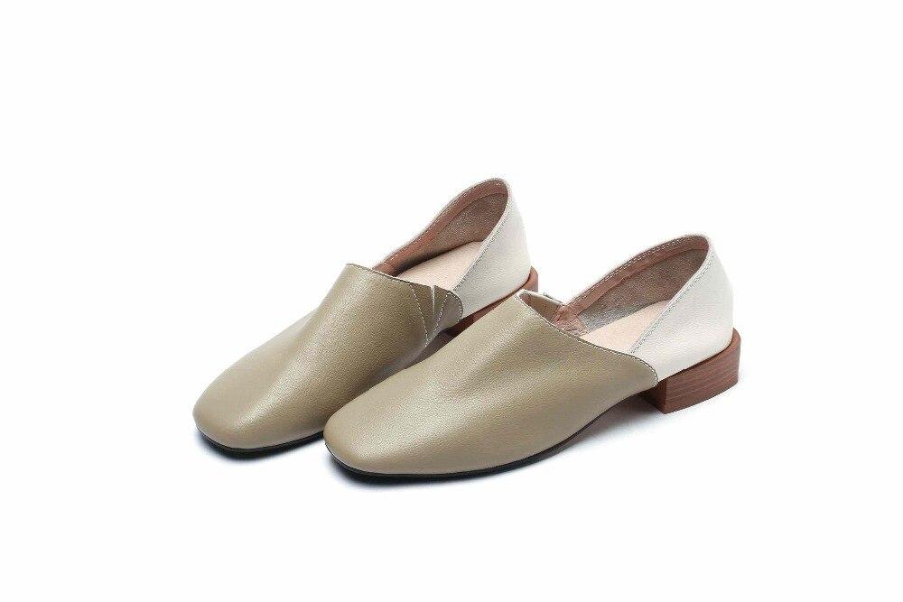 3189e8d6b59 Mixte Pot Bas Marque Fleur Danseur Krazing Couleur Rond Chaussures En Gant  kaki Beige Streetwear Bout ...