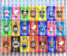 Hello Kitty Yellow Minions Batman Soft Rubber Silicone Cover Case For Samsung Galaxy S3 mini i8190 S4 mini i9190 S5mini G800