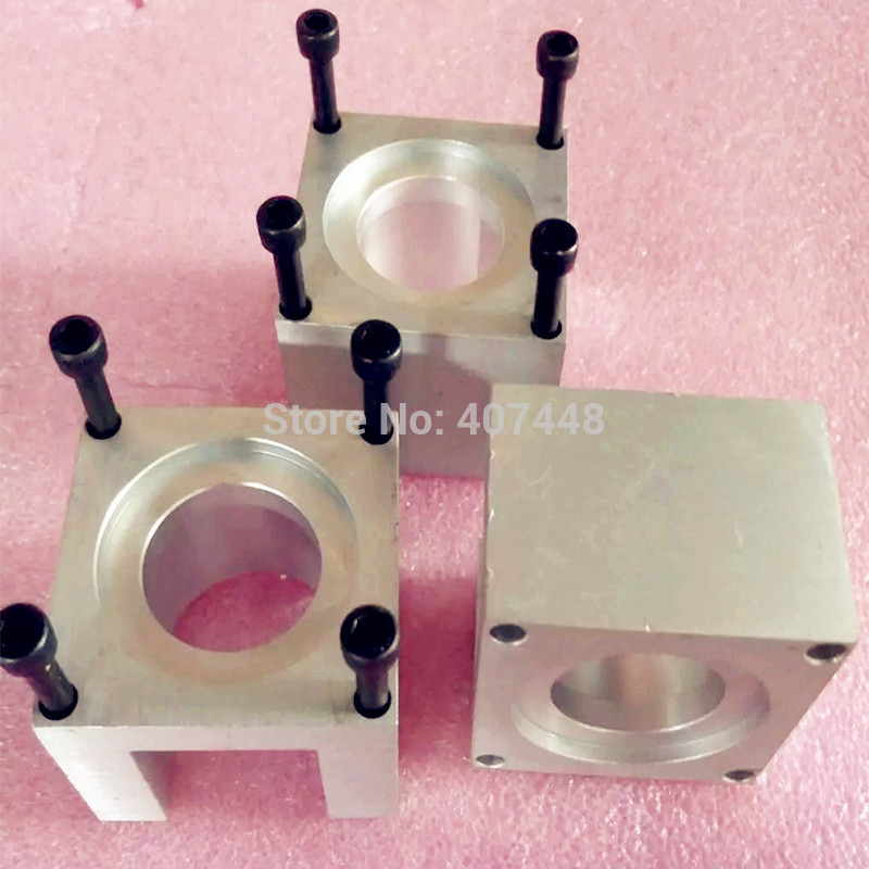 Aluminum 57 Stepper Motor Mount Bracket for CNC Router Carving Machine