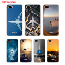 Silicone Phone Case aircraft show for Xiaomi Redmi S2 Note 4 4X 5 5Pro 5A Plus 6 6A 7 Pro Cover