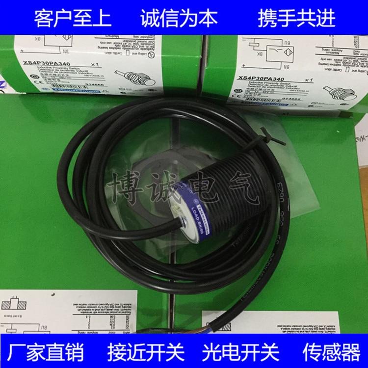 Spot Cylindrical Sensor Proximity Switch XS4P30PA340 Guaranteed For One Year