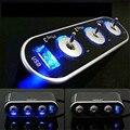 Confiável 3 Way Triplo Car Isqueiro Soquete Splitter 12 V/24 V + USB + LED Light Switch Ma28 dropshipping