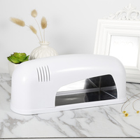 1pcs Professional 9W Nail Art Lamp UV Gel Polish Dryer Light Nail Art Led Phototherapy Machine