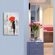 Pop Art handmade figure Pictures 100% Hand Painted Modern Abstract Oil Paintings On Canvas Wall Home Decoration