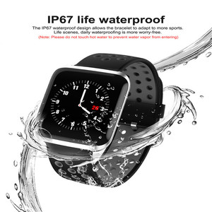 Image 5 - HORUG Bracelet de Fitness bande intelligente traqueur dactivité intelligent Bluetooth Bracelet intelligent montre étanche moniteur de santé électronique