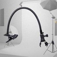 2016 New Useful Camera Photo Studio Accessories Light Stand Background Holder C Clamp Clip Flex Arm