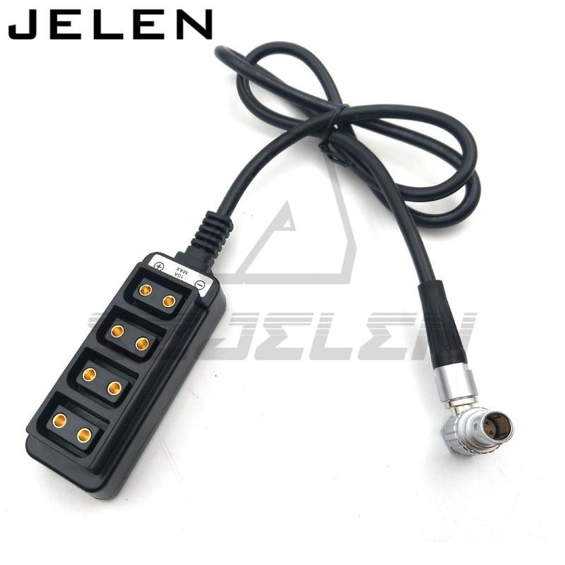 ARRI/RED/SONY Camera power cord plug LEMO FHG 0B 2 pin power supply plug to D-TAP B-type female connector 1/ 4 arri alexa mini amirai power link lemo fhj 2b 8 pins female to 4 pin neutrik xlr 4 pin female cable 1m