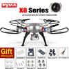 Original SYMA X8C X8W X8G 2.4G 4CH 6-Axis Gyro RC Quadcopter RTF Drone With Camera 3D Eversion Helicopters Remote Control Toys