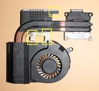 laptop notebook CPU Cooling Radiator Heatsink&Fan For Acer Aspire V3 V3 771 V3 731G V3 772G independent 13N0 AUA0801