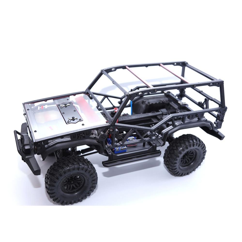 312 /324 Wheelbase-full Edition ,312 /324 Wheel Base-open Edition Roll Cage For Traxxas TRX-4 TRX4 T4 Handwork Frame Car Shell