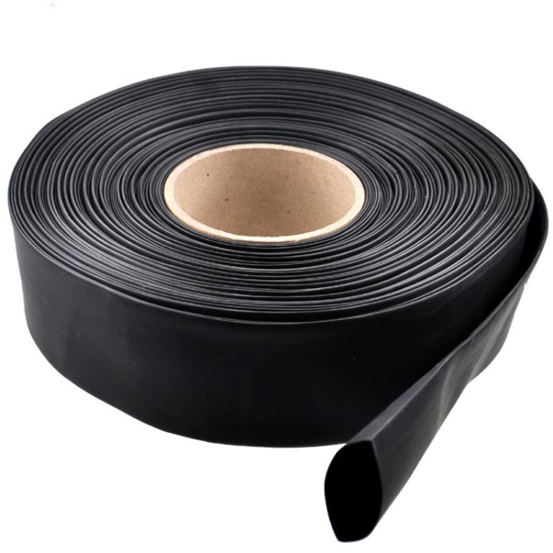 1 Meter high quality black insulation heat shrink tubing diameter 35/40/45/50/60/70/80/90mm DIY hot sale1 Meter high quality black insulation heat shrink tubing diameter 35/40/45/50/60/70/80/90mm DIY hot sale