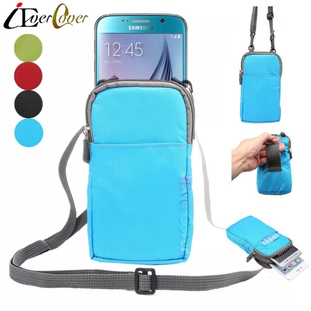 free shipping 90e05 76491 US $3.78 5% OFF|Outdoor Waterproof Nylon Pouch Cover Case for Samsung  Galaxy C5 , C7 Pro / C9 Pro Phone Crossbody Wallet Waist Bag Capa-in Phone  Pouch ...