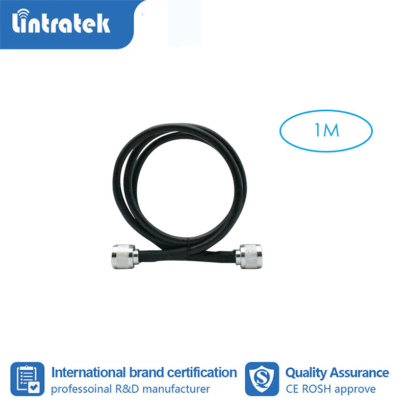 Lintratek 1 Meter Coaxial Cable N Male To N Male For Mobile Phone Signal Booster Repeater Amplifier #3