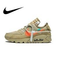 Original Authentic NIKE AIR MAX 90 Men's Running Shoes Comfortable Sport Outdoor Sneakers Athletic Designer Footwear AA7293 200
