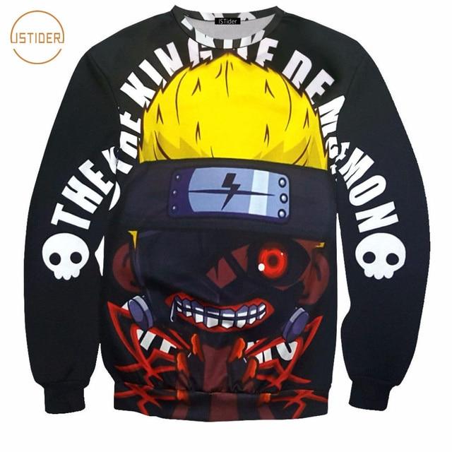 Tokyo Ghoul Men 3D Sweatshirts Hoodie