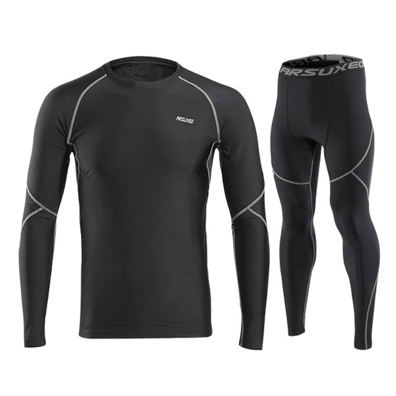 4d2b7a70fe6b9 Men Winter Sports Cycling Base Layers Thermal Underwear Men For Ski/Hiking/ Snowboard-in Cycling Base Layers from Sports & Entertainment on  Aliexpress.com ...