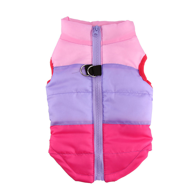 New Cat Clothes Dog Clothes Coat Pet Supplies Jacket Three Color Warm Clothing Puppy Costumes Jp