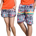 Men Women  Clothing Quick Dry Beach Shorts Coconut Trees Swimwears Lovers Boardshorts Couples Surf Board Shorts 02-0347