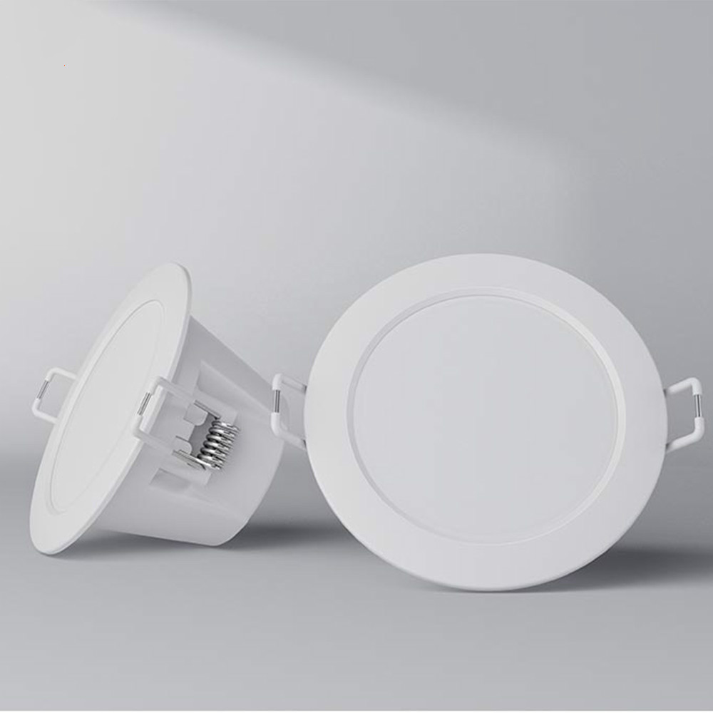 Original Xiaomi Mijia Smart Downlight LED Night Light Wifi Work with App Remote control White & Warm light Smart Change lamp|Night Lights| - AliExpress