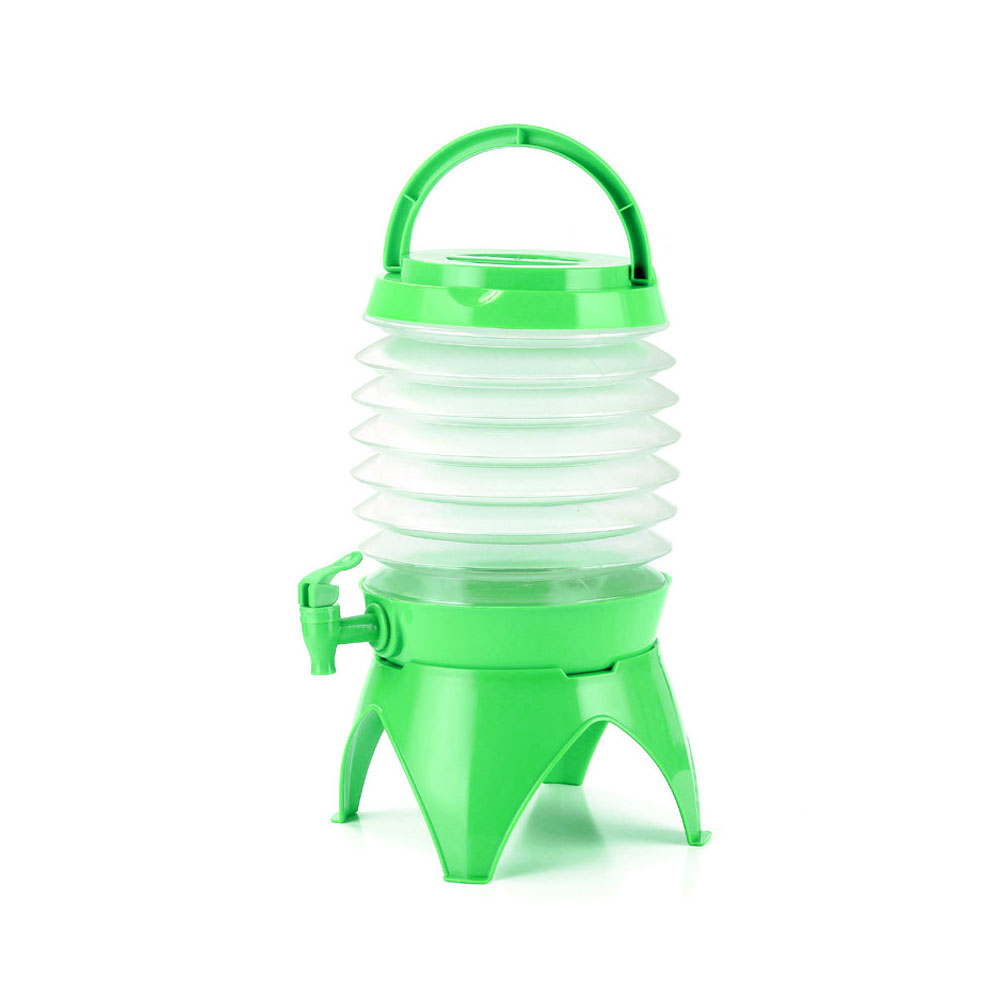 Складное ведро голубое портативное складное ванночка для ног складывающийся таз туристические поездки за рубежом принадлежности Туристические сумки для умывальника - Цвет: green
