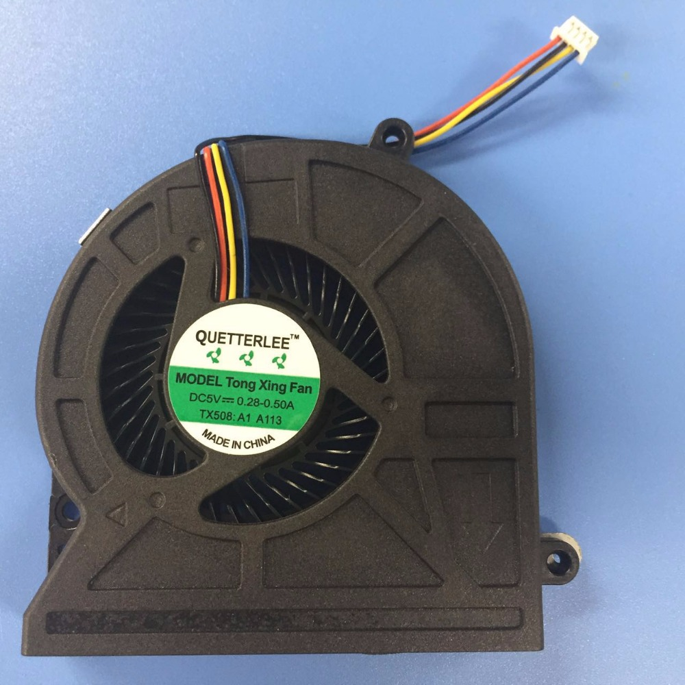 New Replacement 4 Pin Cpu Cooling Fan For Toshiba