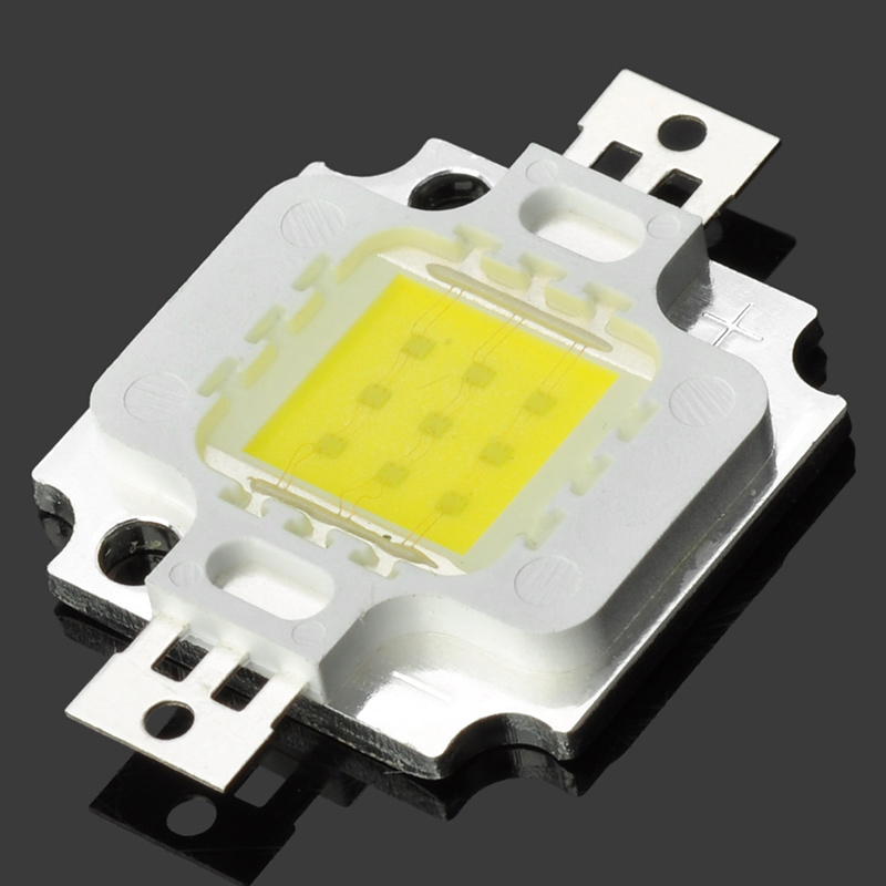 HIGH POWER DIY 10W 12V 900-1000LM 6000-6500K White Bright LED Module Chip Beads For Led Lamps