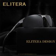 ELITERA Aluminum Magnesium Men's Sunglasses Polarized Coatin