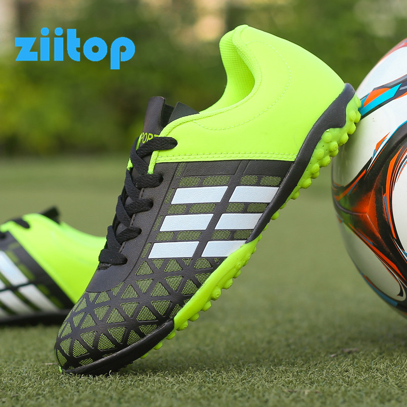 Football Shoes Soccer-Boots Turf Spikes Training Male Men Athletic Man title=
