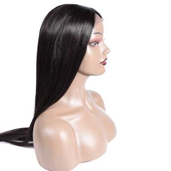 30 inch wig Brazilian 4×4 Closure Wig Lace Human Hair Wigs Long Straight Remy Free Part Lace Front Wigs for Woman Pre Plucked
