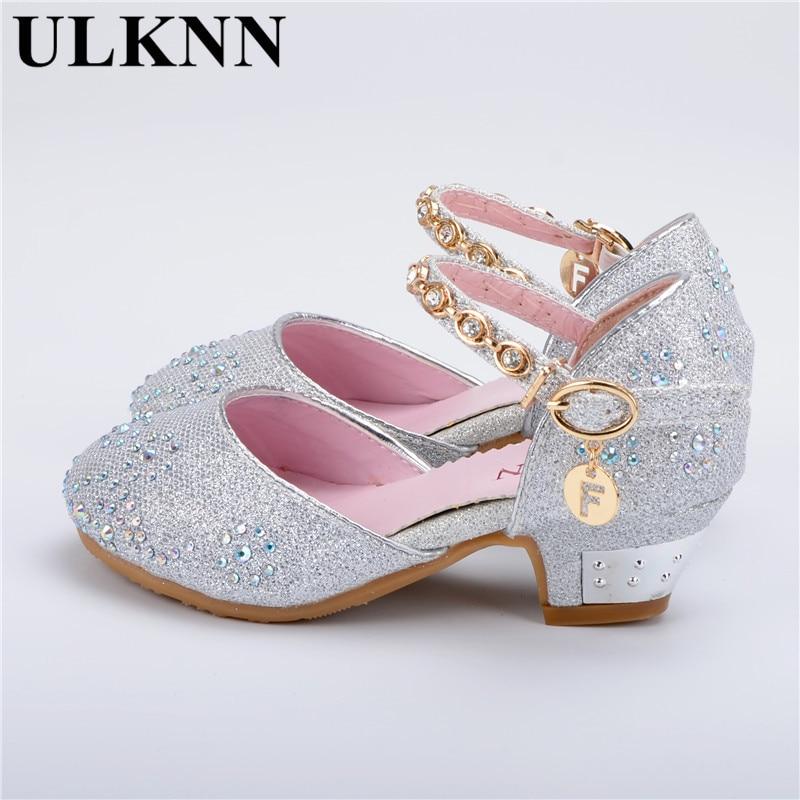ᑎ‰ULKNN sandalias para niñas princesa de cuero suave Bebé Zapatos ...